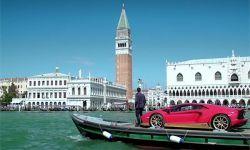 Lamborghini i piękna Wenecja
