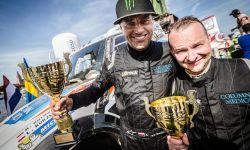 Krzysztof Hołowczyc drugi w Baja Poland. Trzy MINI ALL4 Racing w pierwszej piątce na mecie rajdu