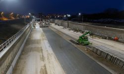 W tunelu POW  przybywa betonu